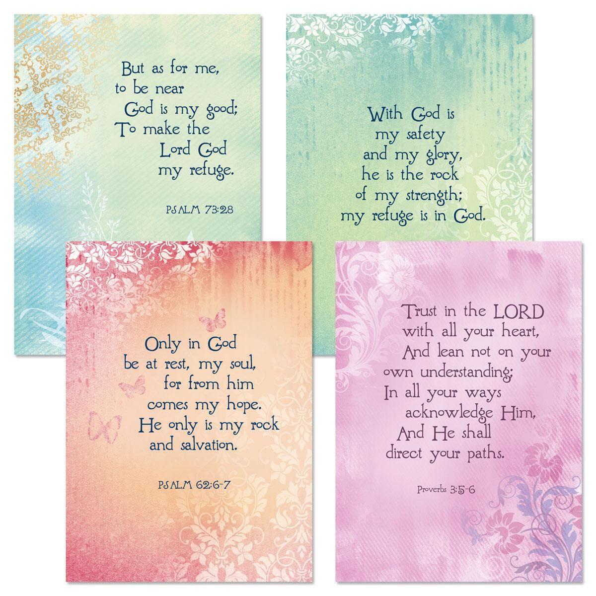 Heartfelt Scripture Get Well Cards