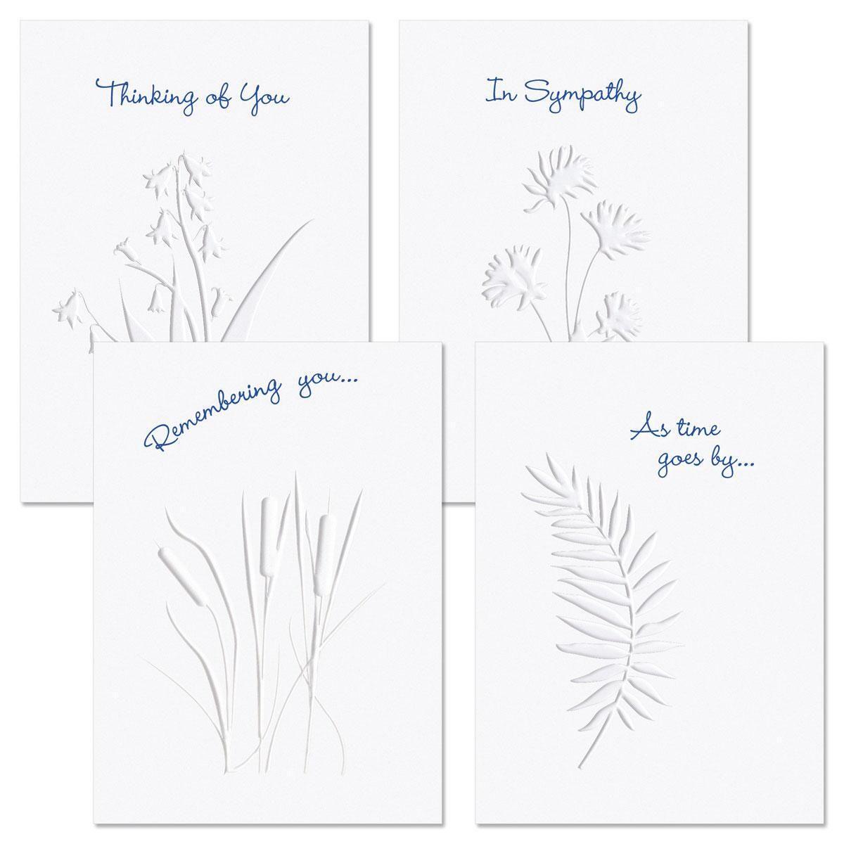 Moments Past Deluxe Sympathy Greeting Cards