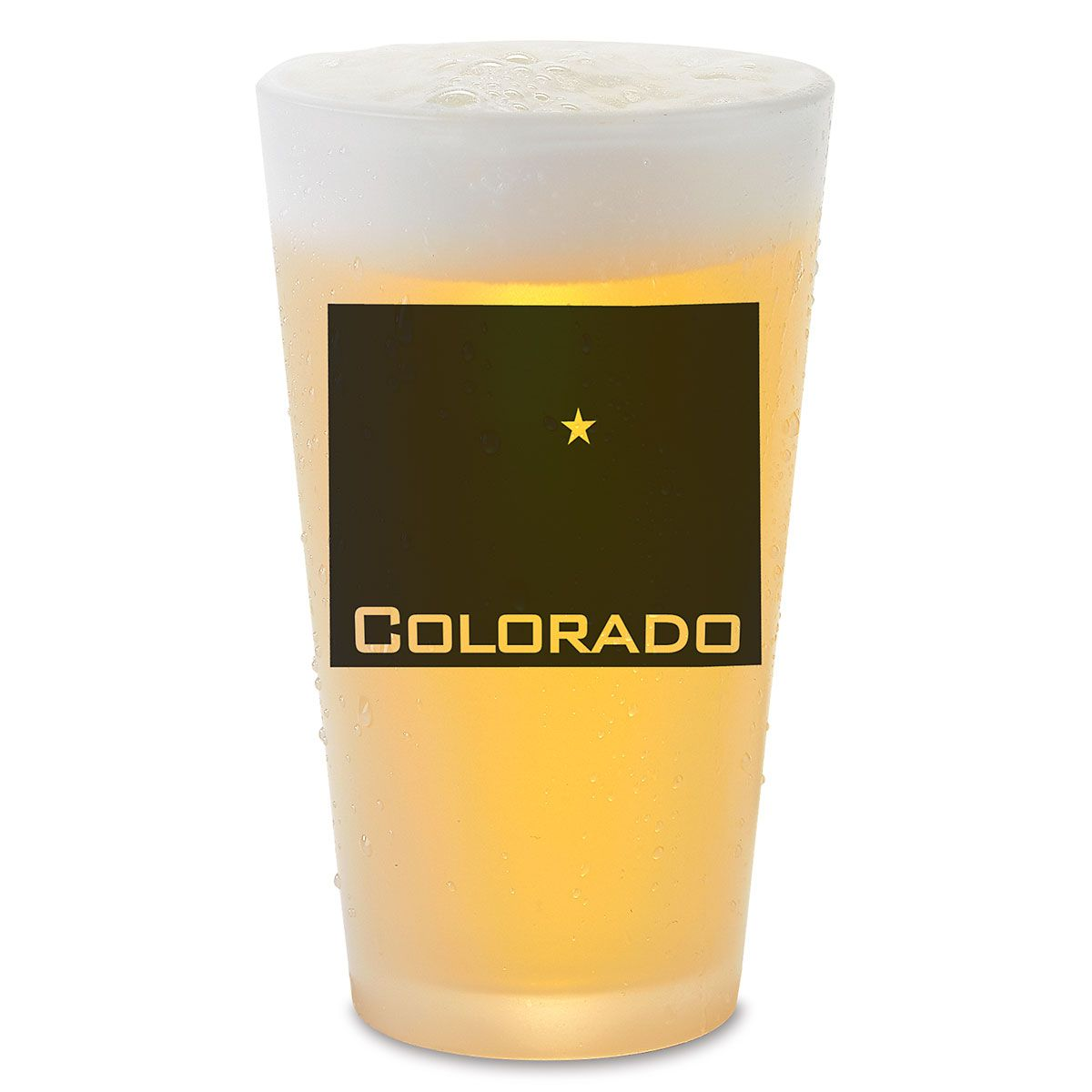 State Silhouette Pub Personalized Pint Glass