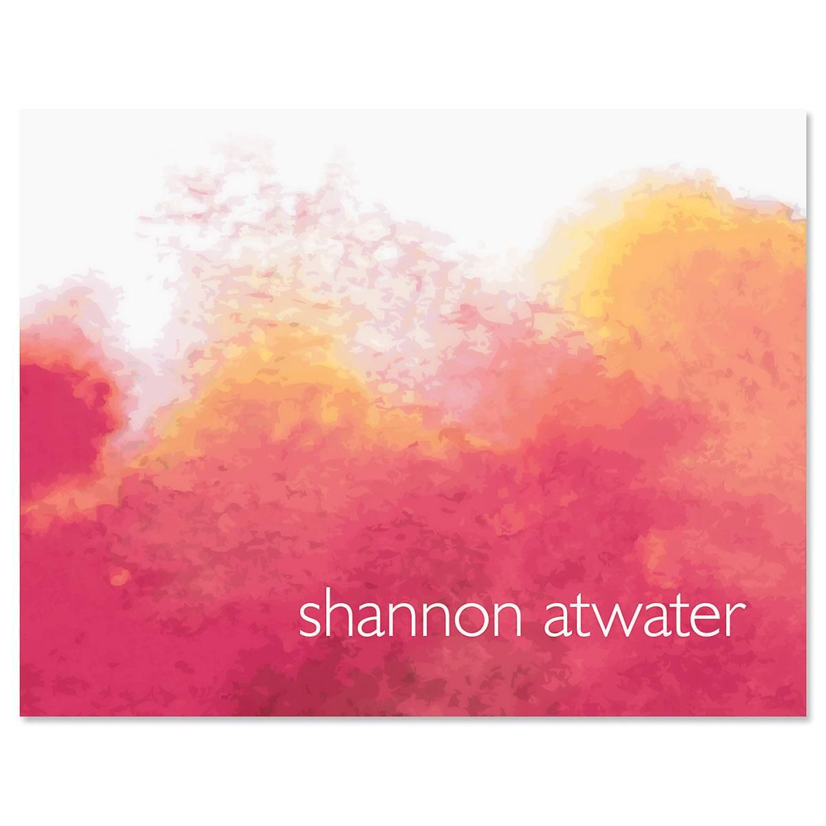 Inkspot Personalized Note Cards
