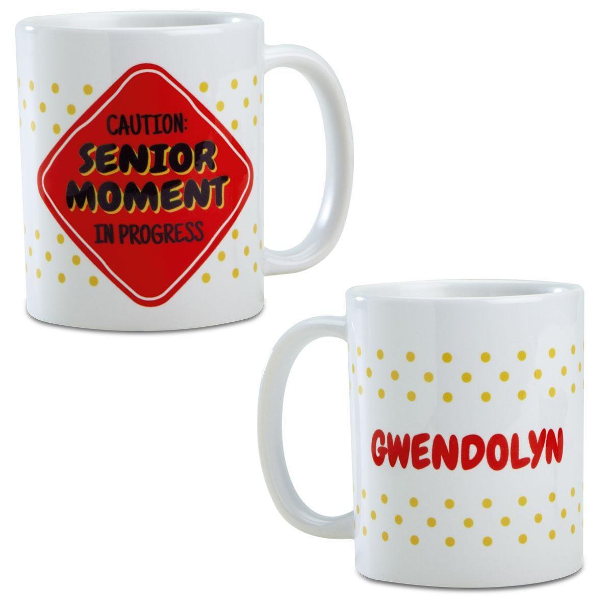 Senior Moments Personalized Novelty Mug