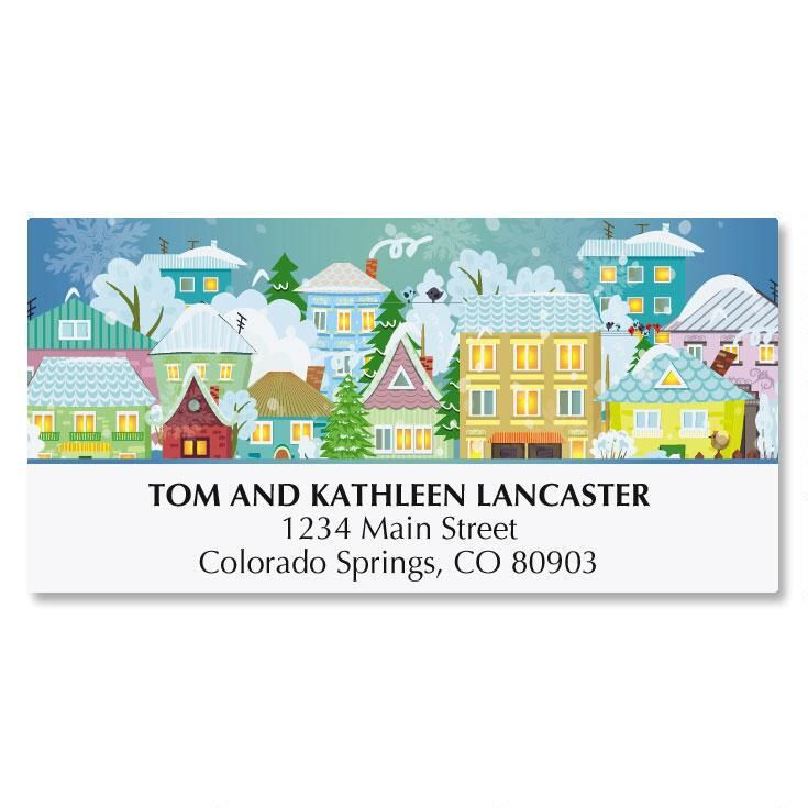 From Our House To Yours Address Labels