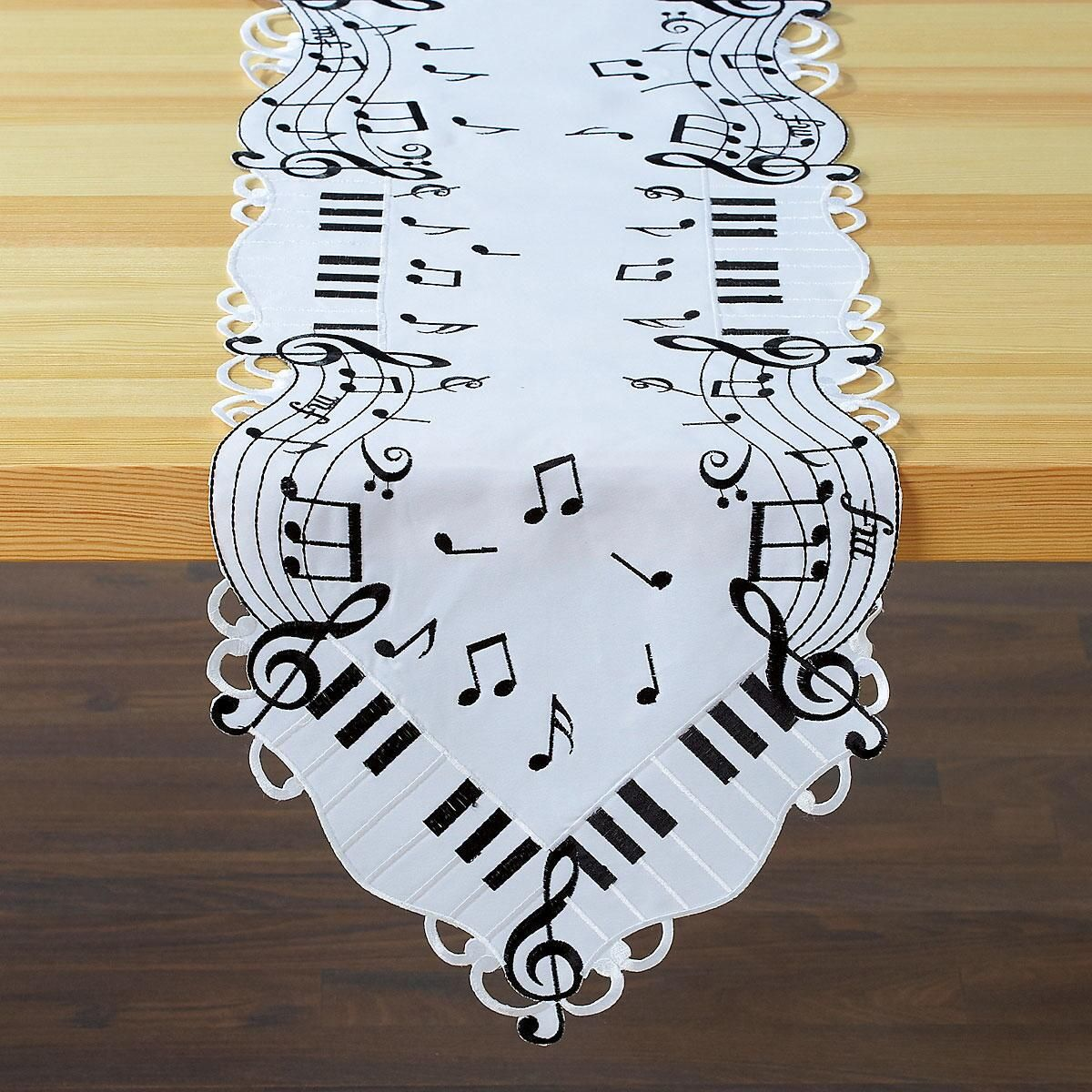 Music Table Runner