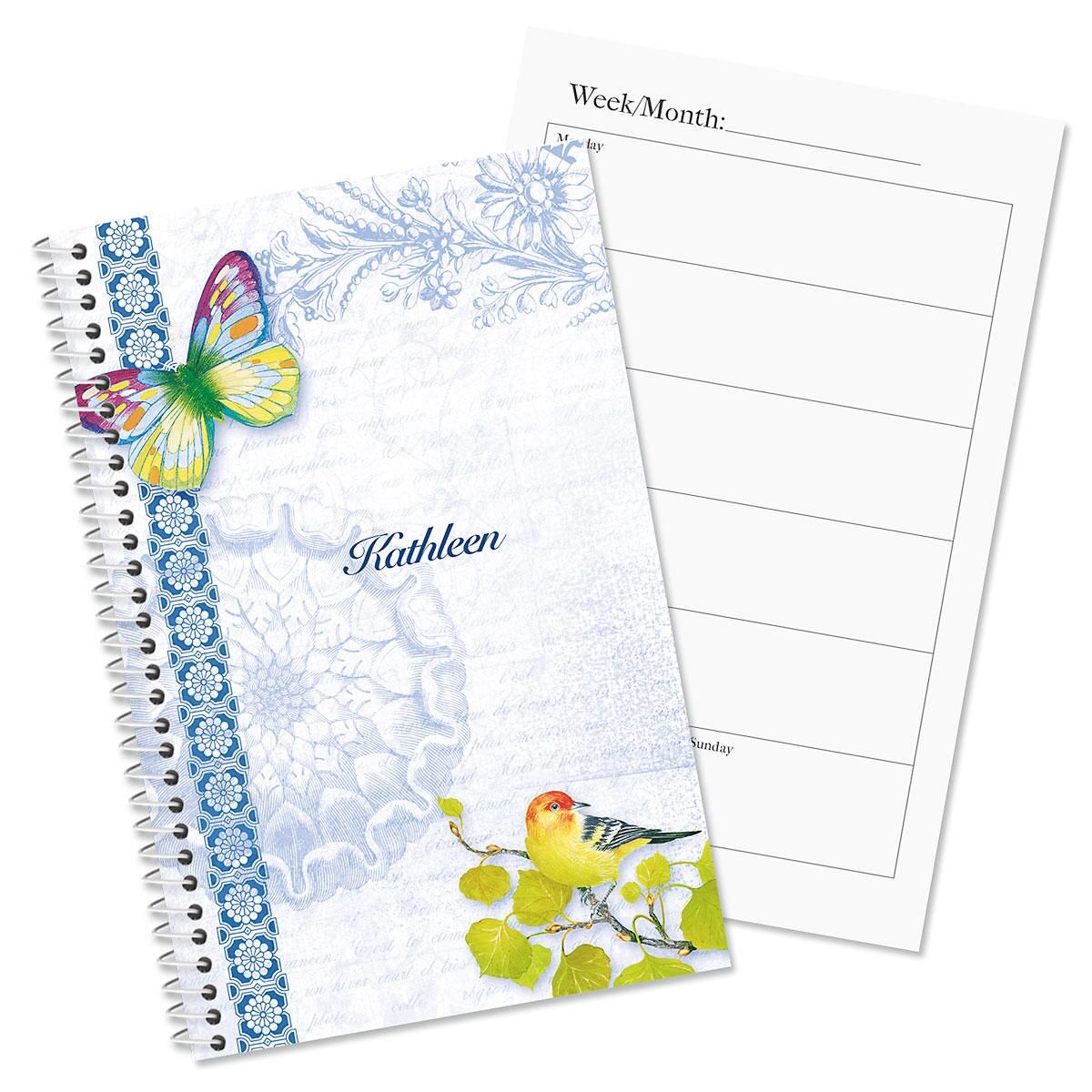 Exotic Prints Personalized Planner