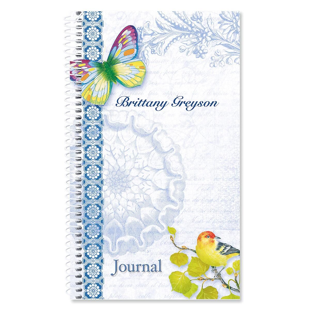 Exotic Prints Personalized Journal
