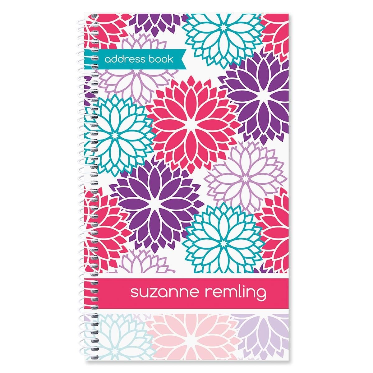Radiance Personalized Lifetime Address Book