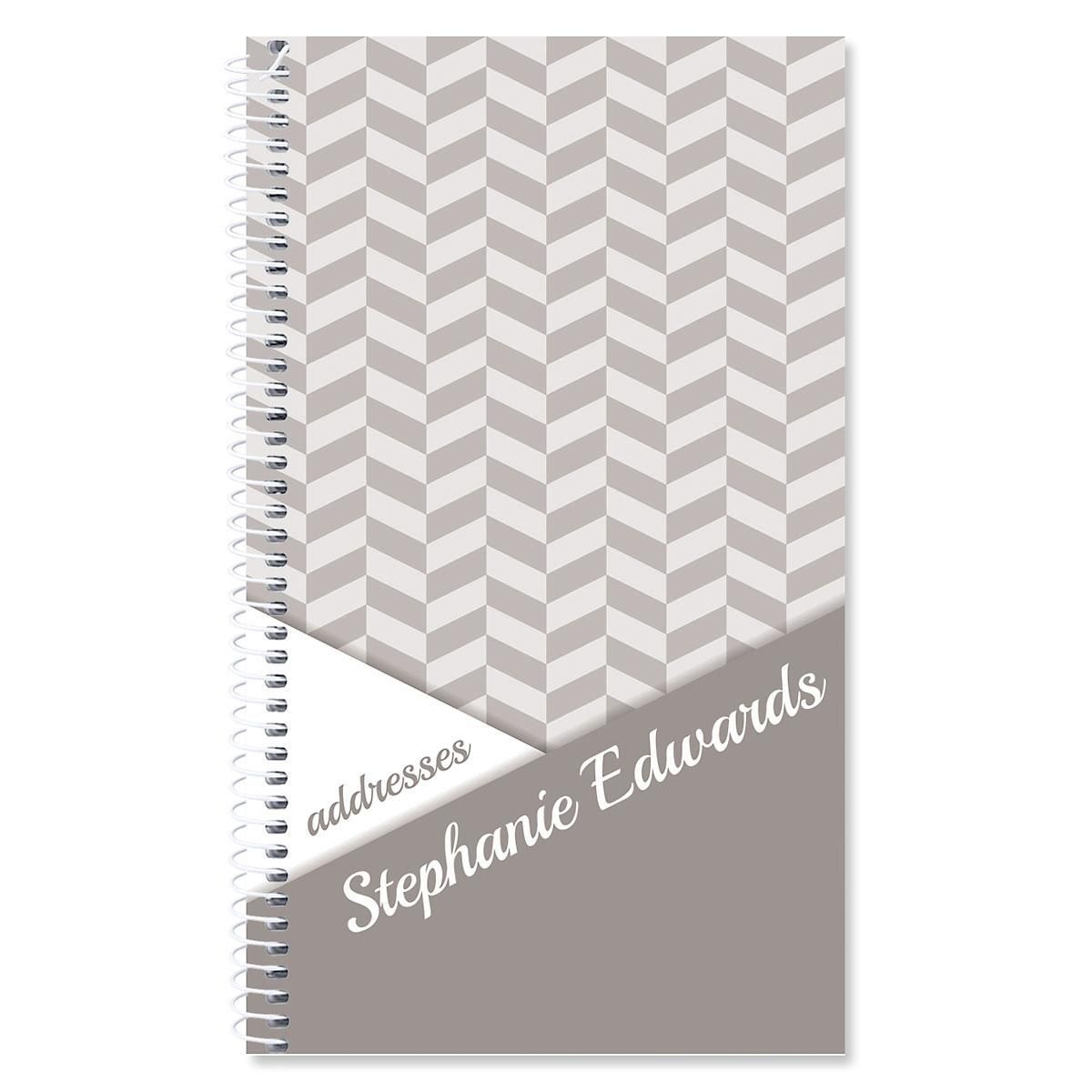 Modern Edge Personalized Lifetime Address Book