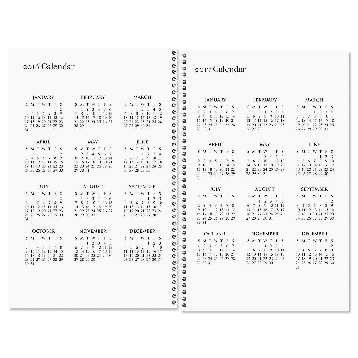 Gray Burst Personalized Planner