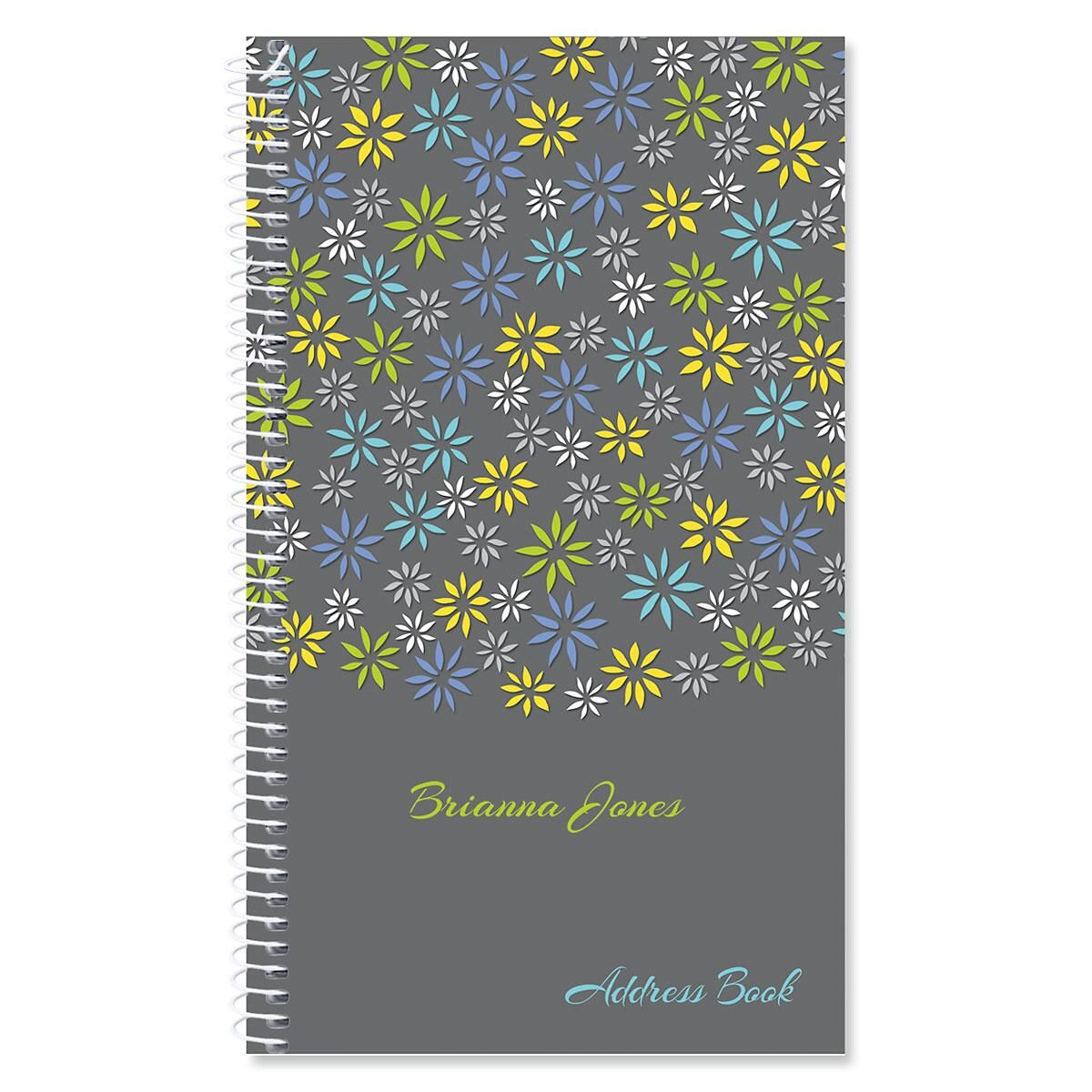 Flower Sky Personalized Lifetime Address Book
