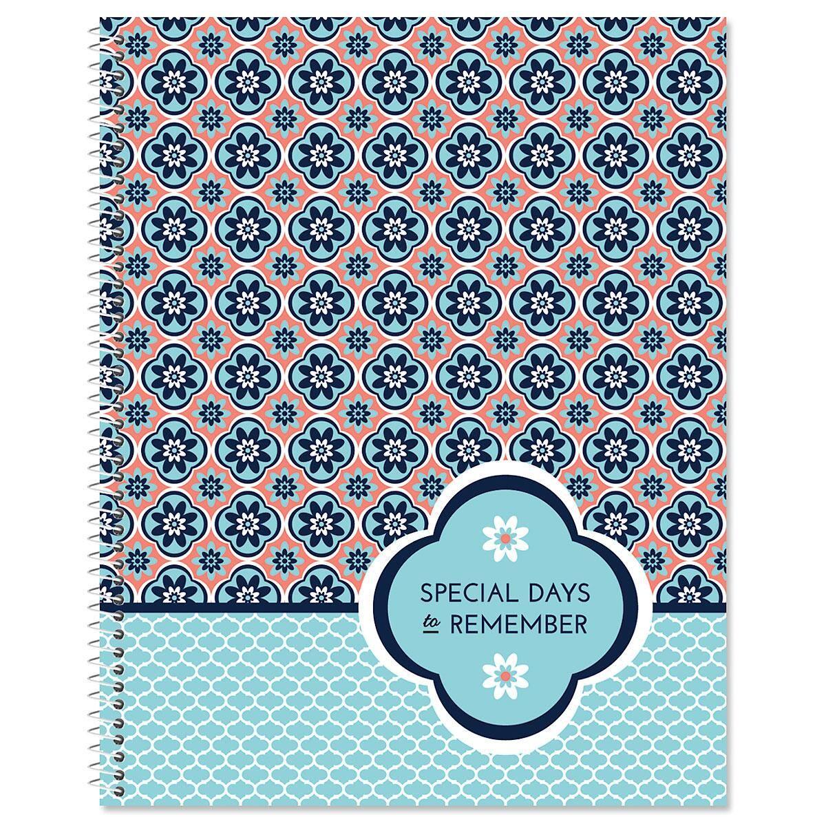Mosaic Greeting Card Organizer Book