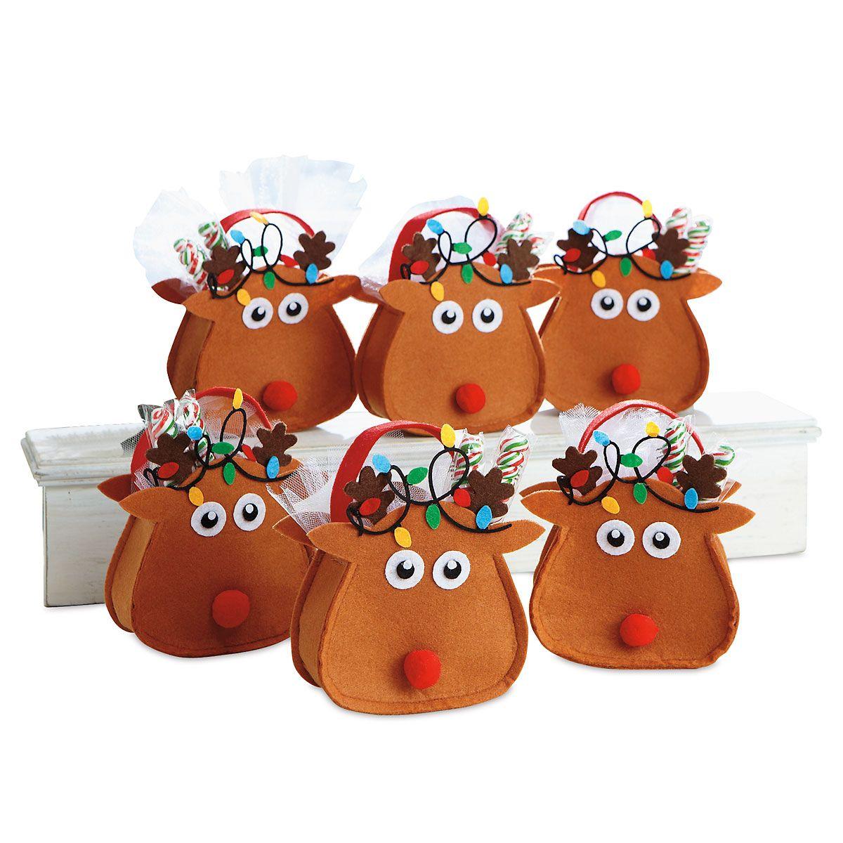 Reindeer Party Treat Bags