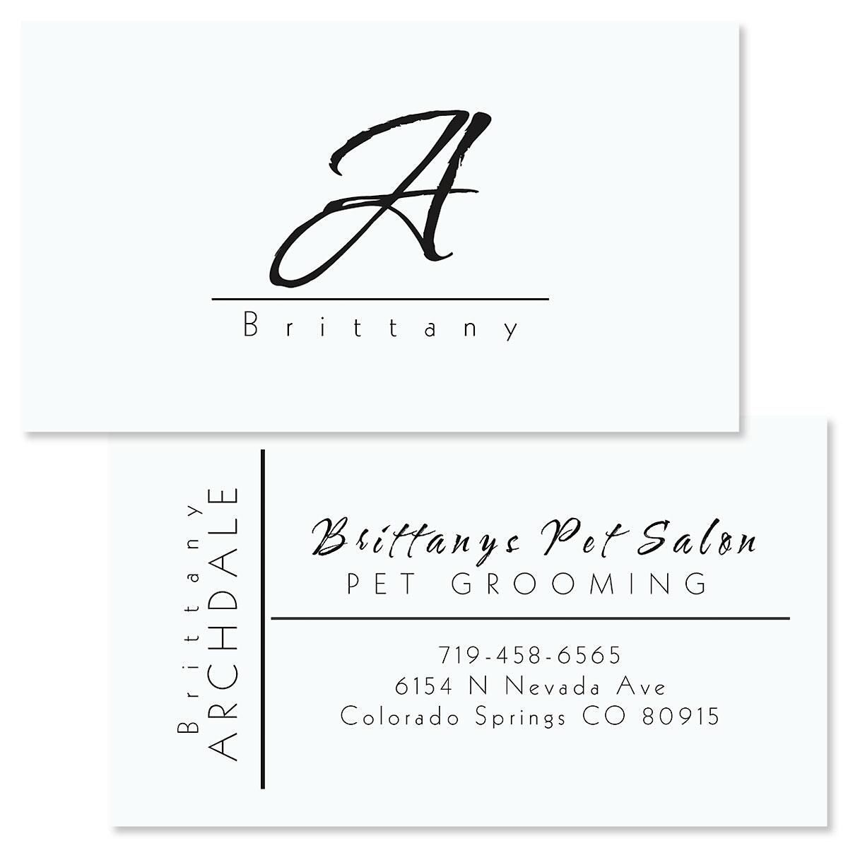 Inspirational Double-Sided Business Cards