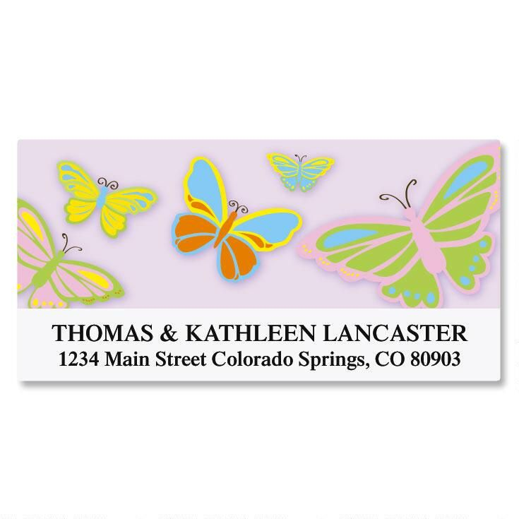 Butterfly Deluxe Address Labels