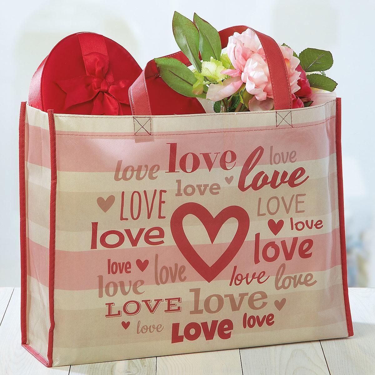Love Hearts Tote Buy 1 Get 1 Free!