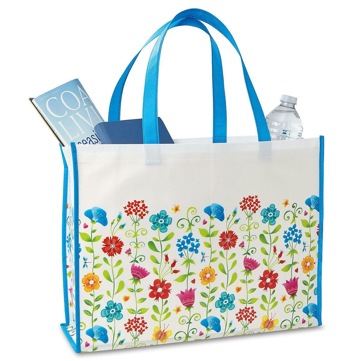 Whimsical Wildflowers Tote Bag - Buy 1 Get 1 FREE