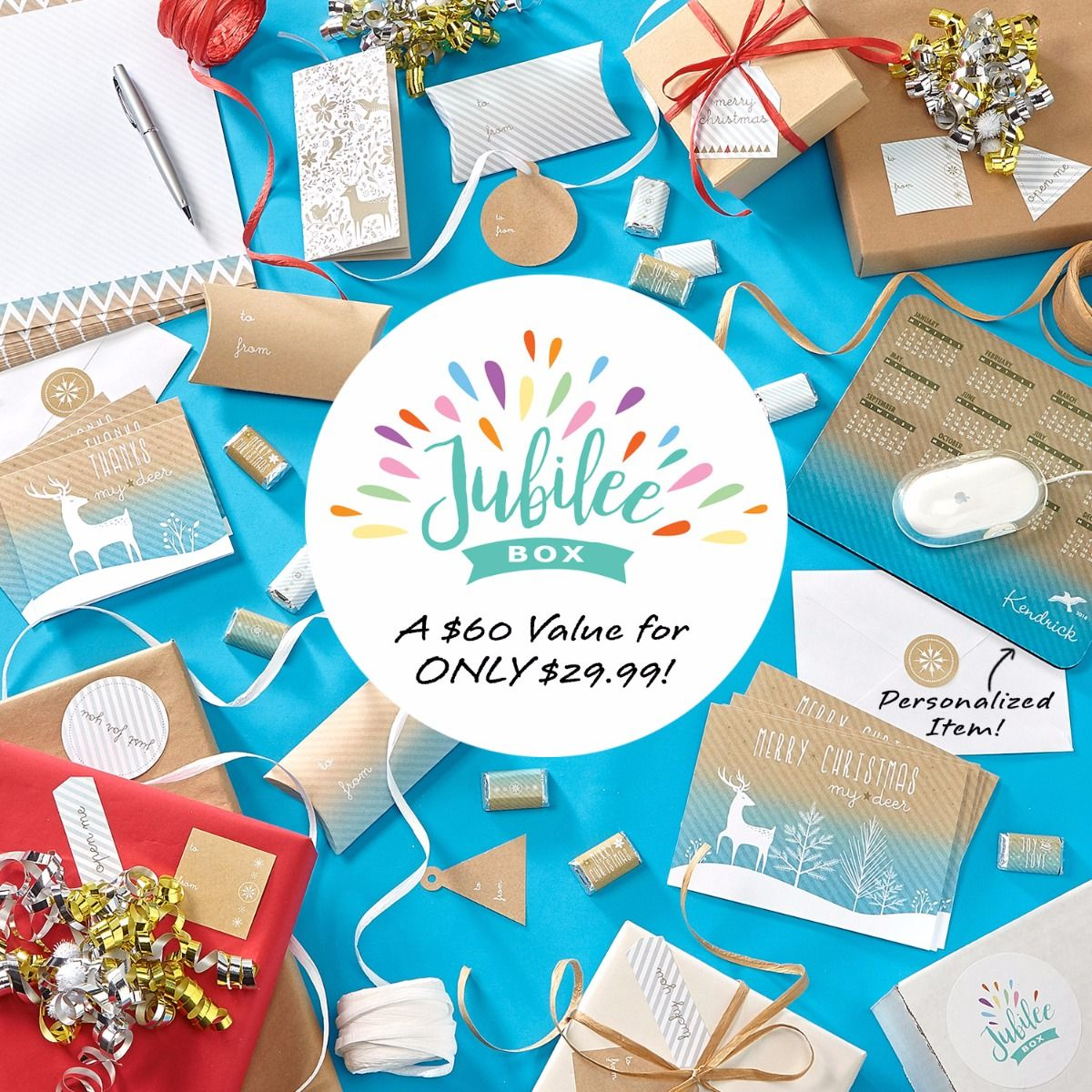 Jubilee Box – Stationery, Wrap & Gifts Subscription Box