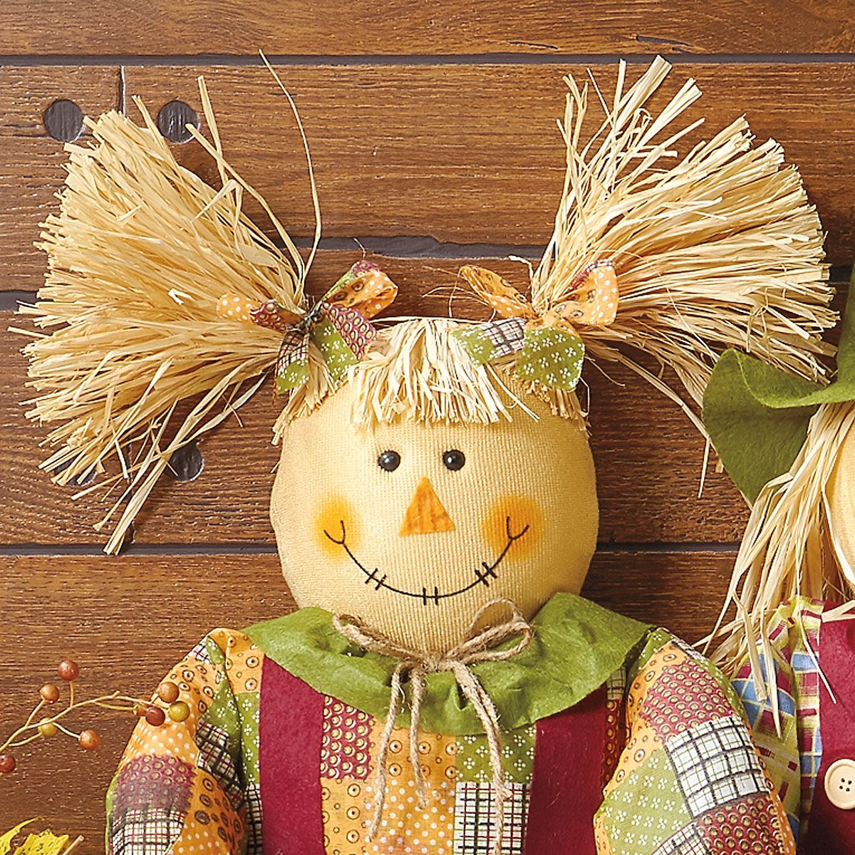 Sitting Girl Scarecrow