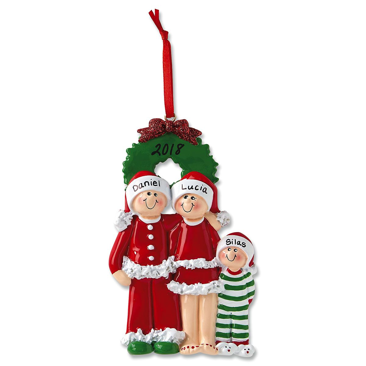 PJ Family Custom Christmas Ornaments