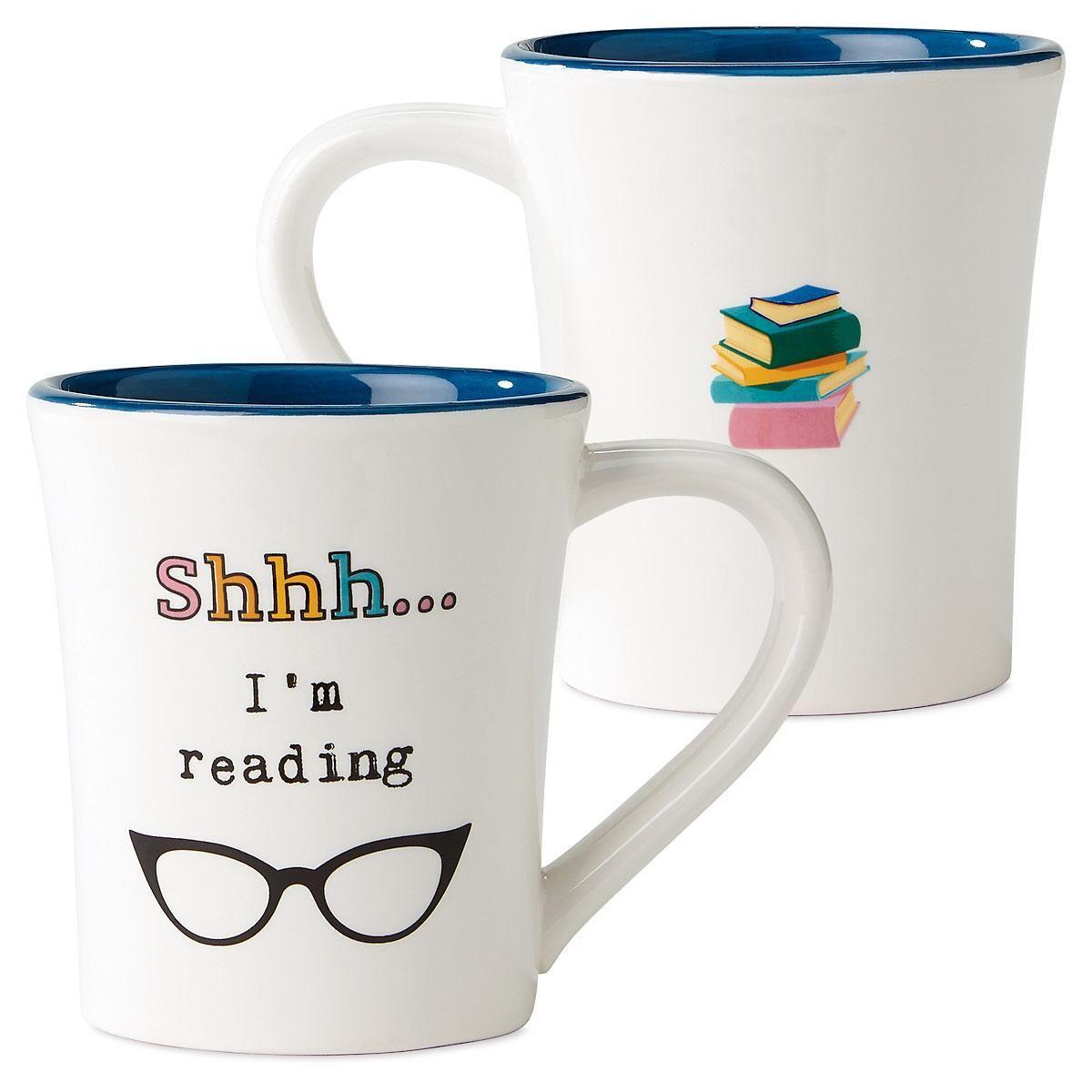 SHH Book Club Novelty Mug