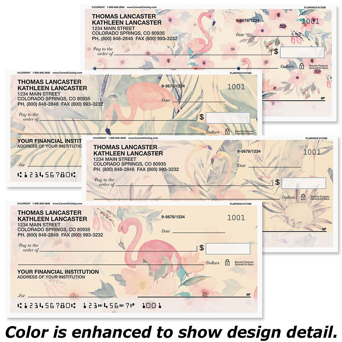 Flamingo Personal Checks
