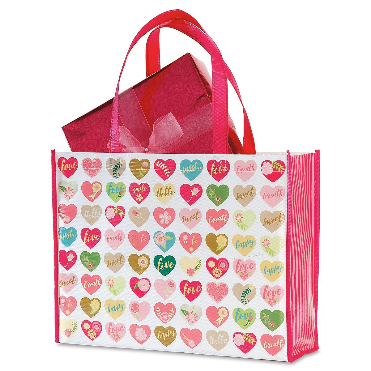 Valentine Shopping Bag - Buy 1 Get 1 Free