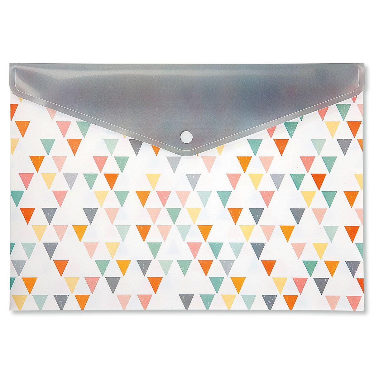Geometric Snap Folders