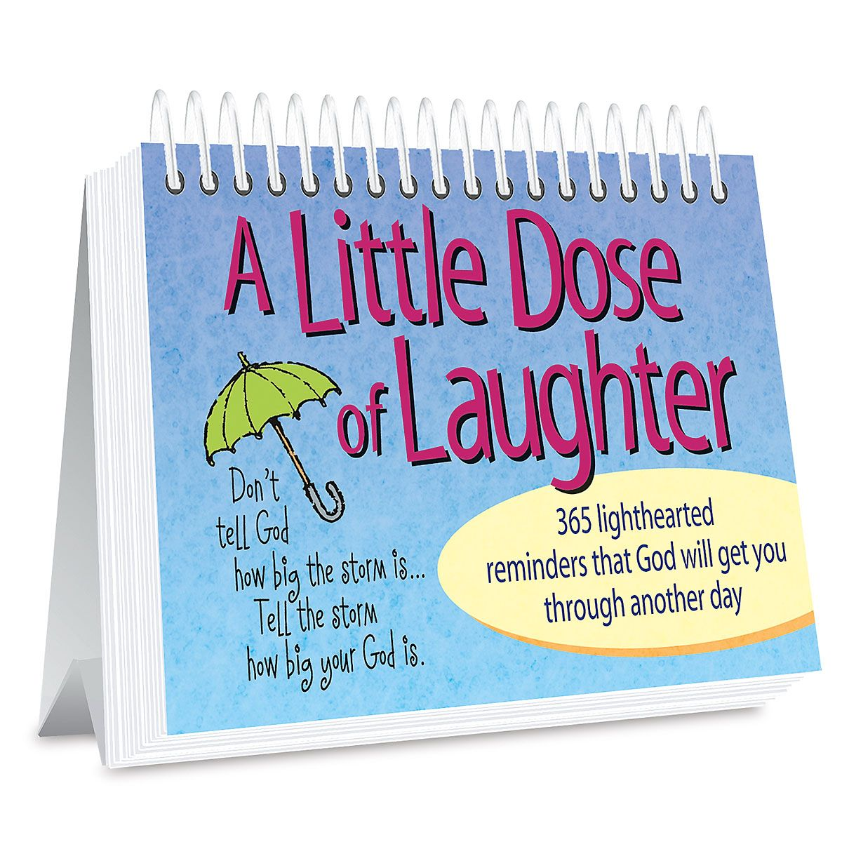 Little Dose of Laughter Page a Day Book