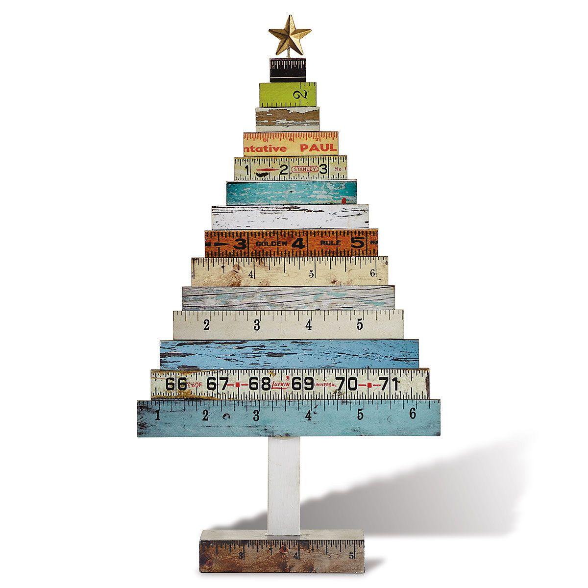 Ruler Christmas Tree
