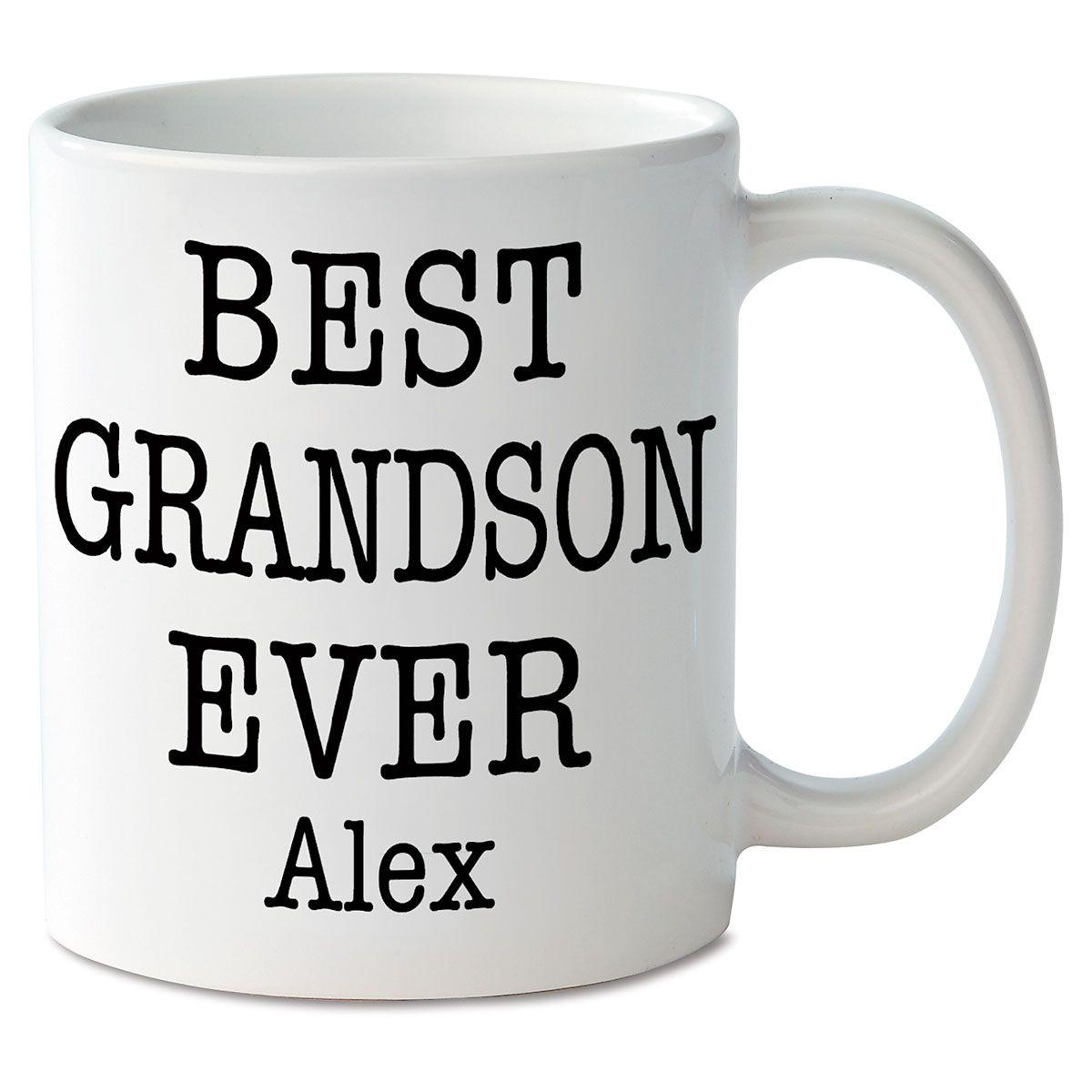 Best Grandson Ever Novelty Mug