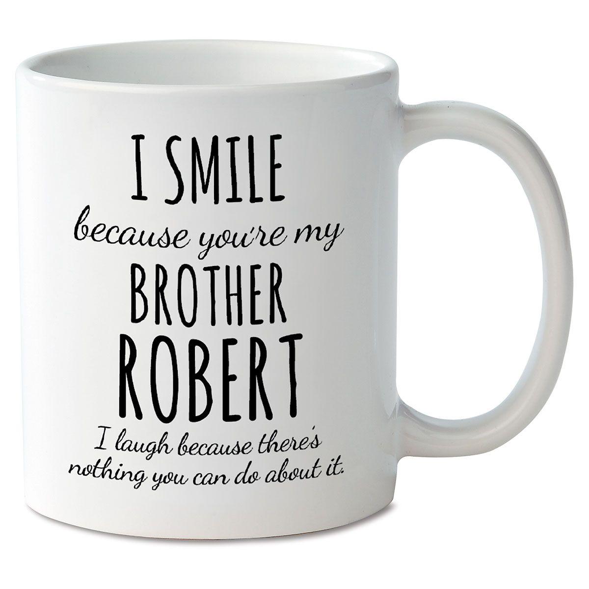 Smile Brother Novelty Mug