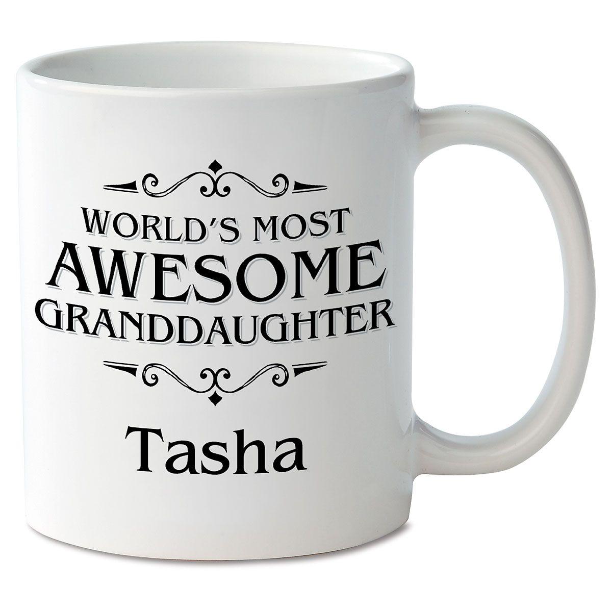 World's Most Awesome Granddaughter Novelty Mug