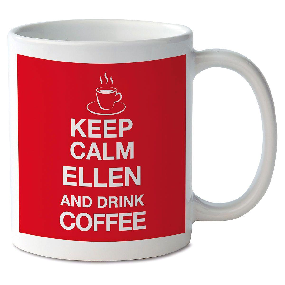 Keep Calm and Drink Coffee Novelty Mug