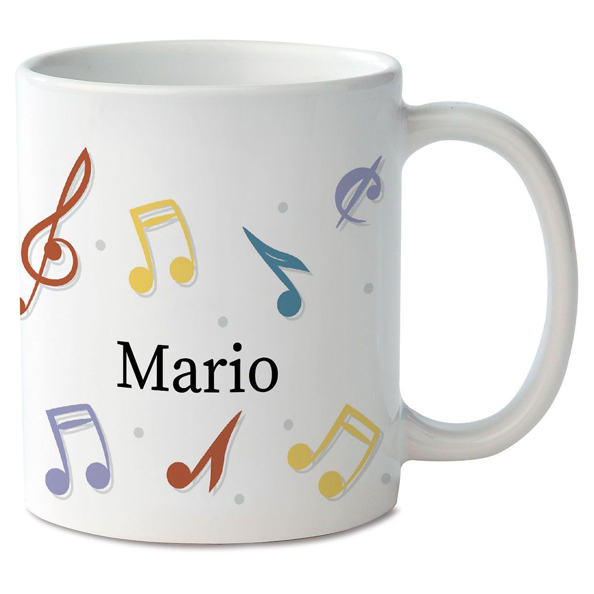 Music Notes Novelty Mug