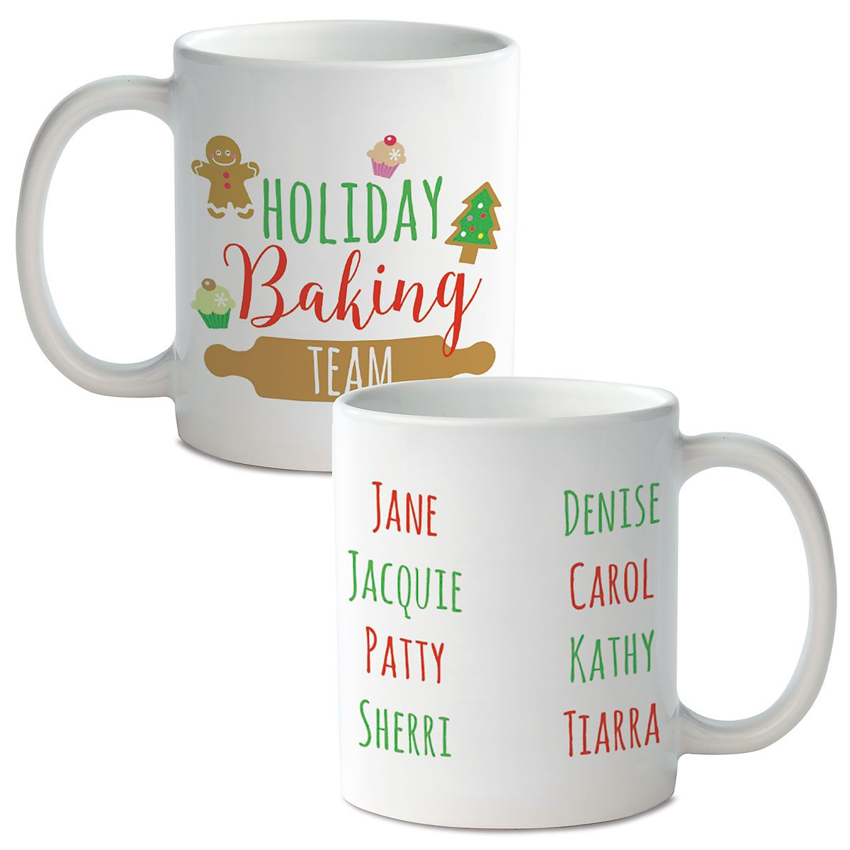 Holiday Baking Team Novelty Mug