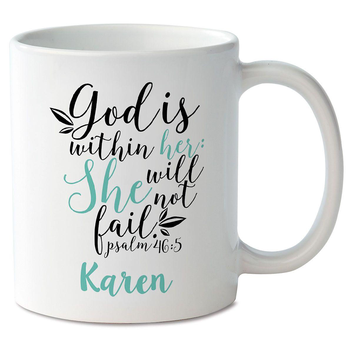 God Within Her Novelty Mug
