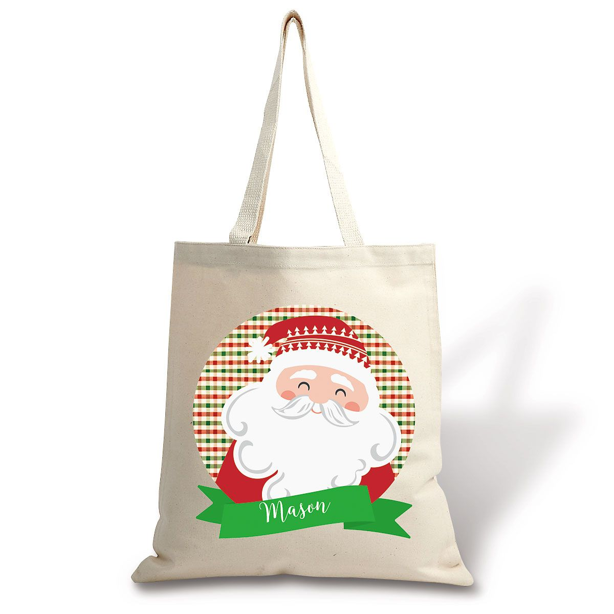 From Santa Canvas Tote