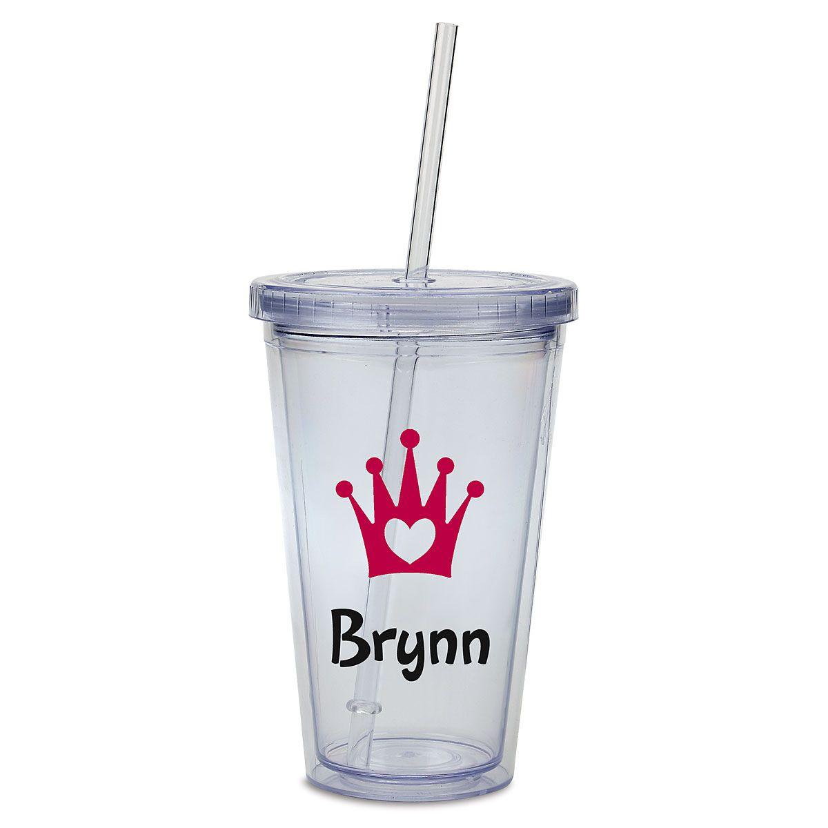 Custom Crown Acrylic Beverage Cup