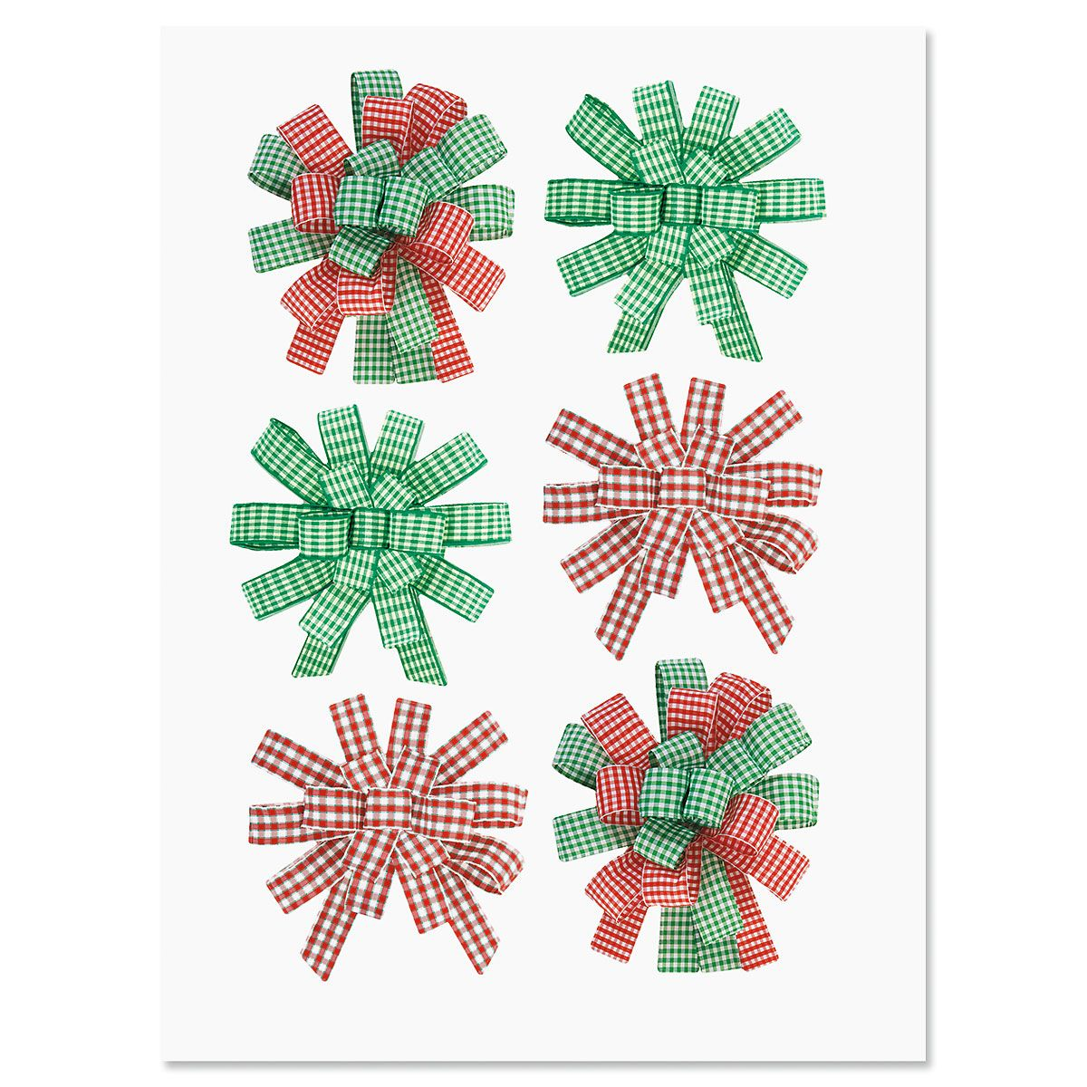 Holiday Sticker Bows - Buy 1 Get 1 Free