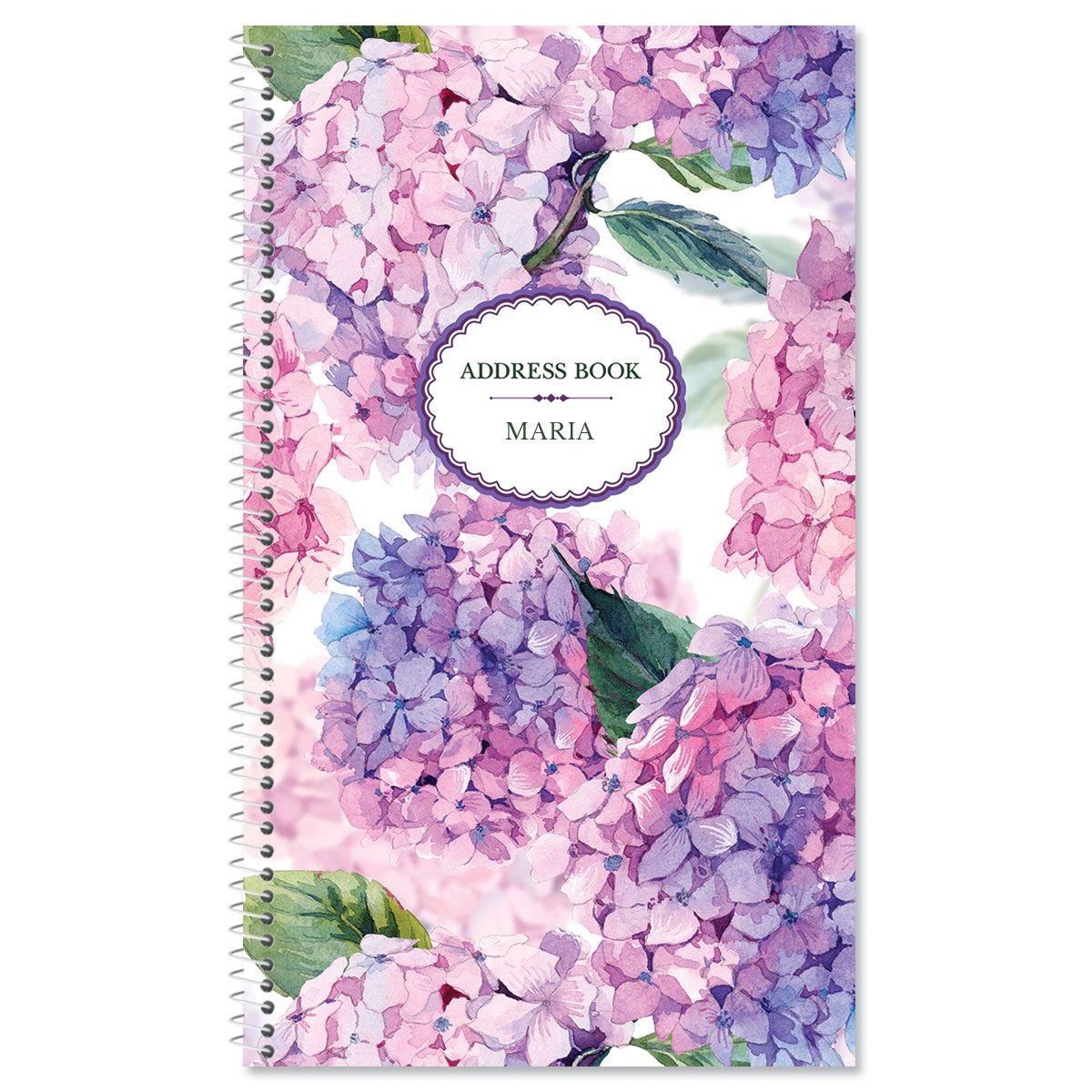 Hydrangea Cluster Lifetime Address Book