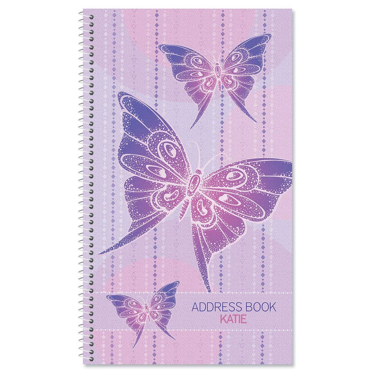 Boho Butterfly Lifetime Address Book
