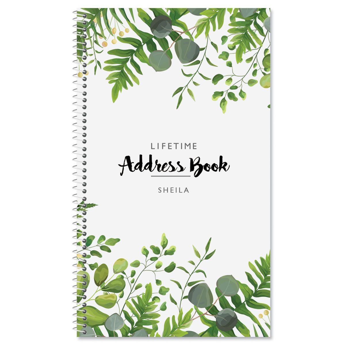 Hanging Leaves Lifetime Address Book