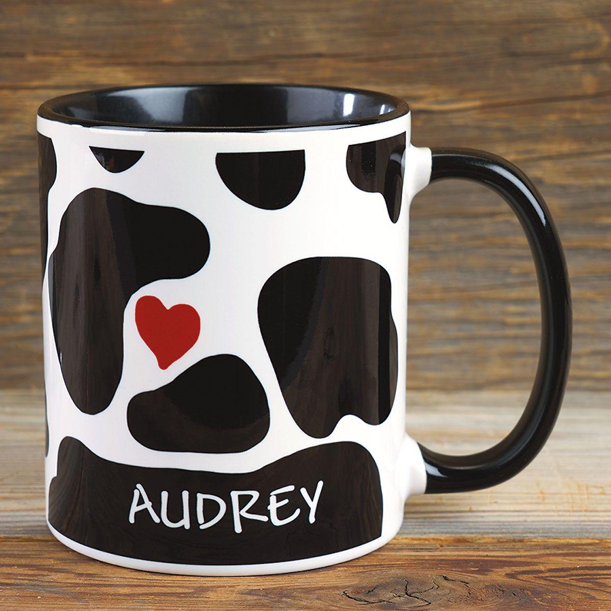 Cow Love Personalized Mug