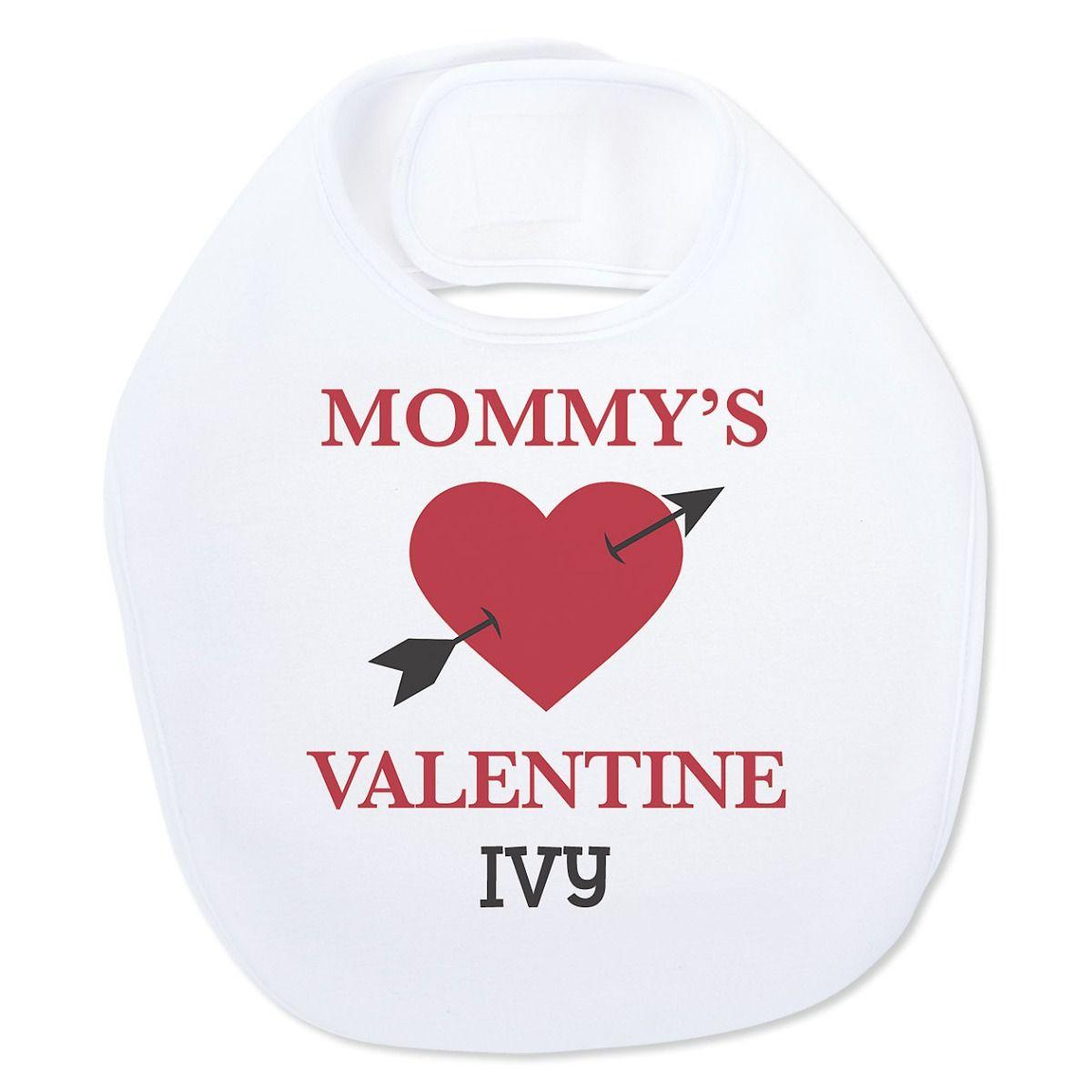 Personalized Baby's Valentines Day Bib