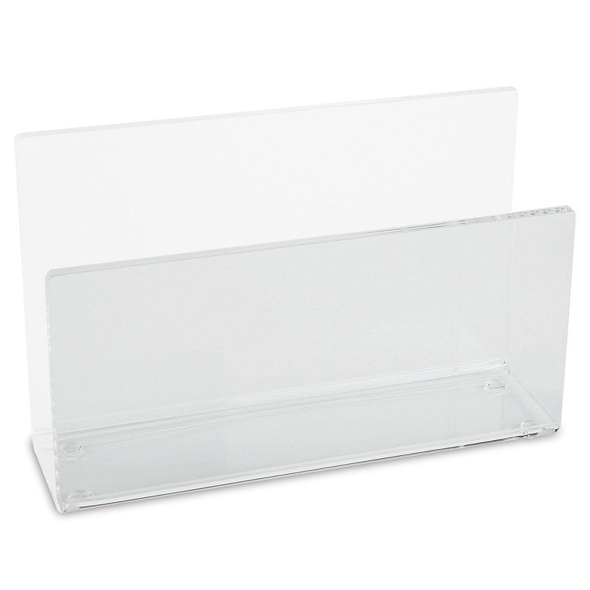 Acrylic Upright Note Pad Holder