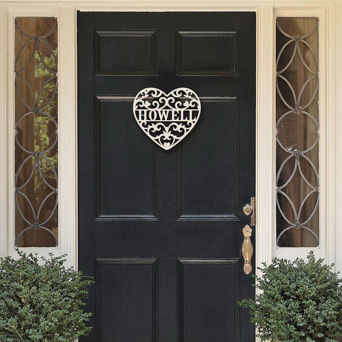 Custom Loving Heart Wooden Plaque
