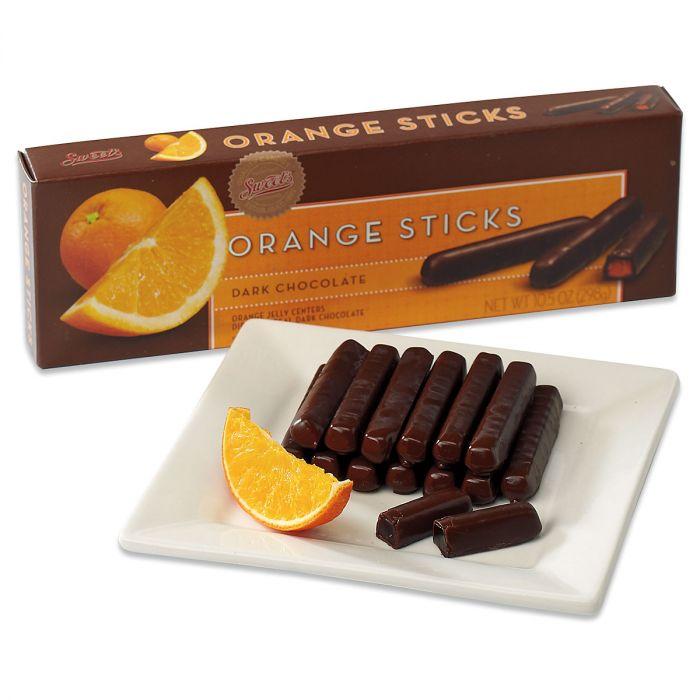 Orange Dark Chocolate Gourmet Sticks