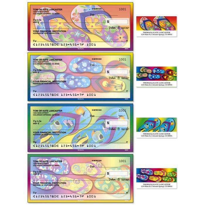 Flip-Flops Fun Duplicate Checks with Matching Address Labels