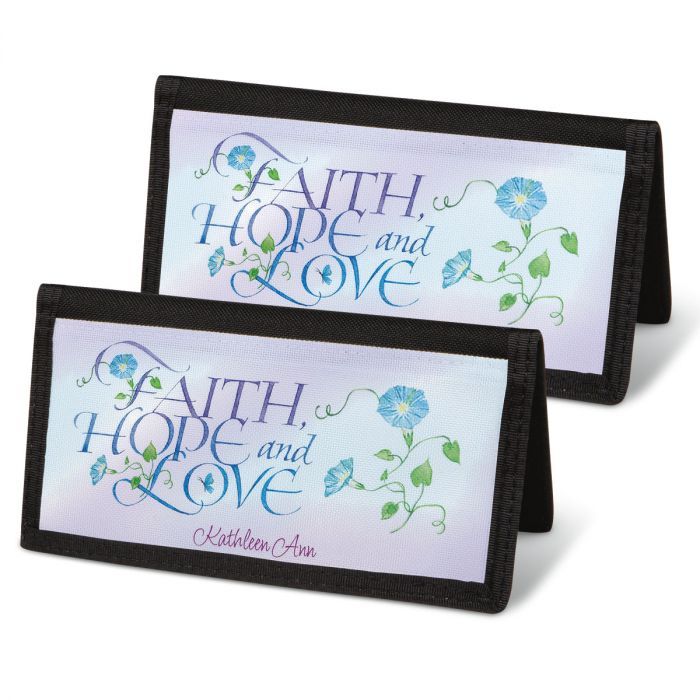 Expressions of Faith® Personal Checkbook Covers