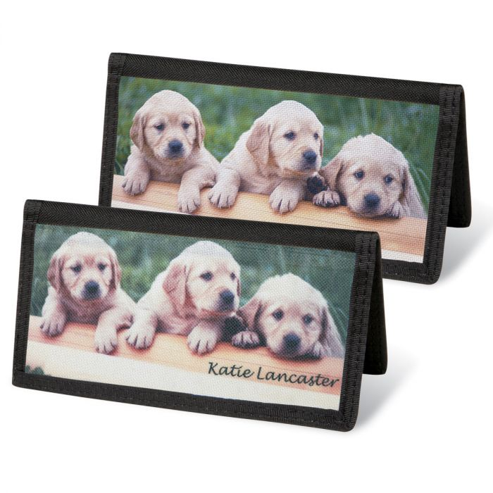Puppy Love Personal Checkbook Covers