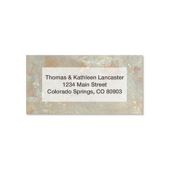 Tuscan  Border Address Labels